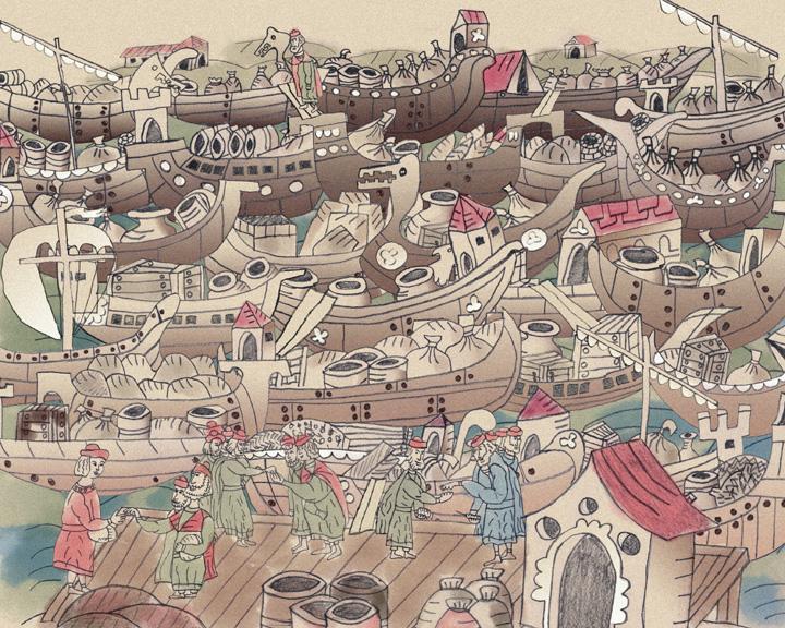 Торговля на реке