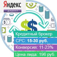 2300+ заявок по 196 рублей в нише финансовых услуг