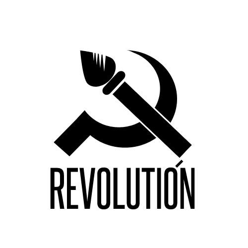 Разработка логотипа и фир. стиля агенству Revolución фото f_4fb9f04445b84.jpg