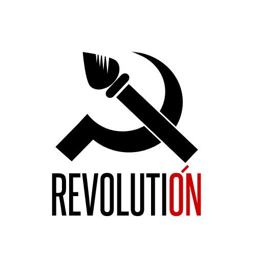 Разработка логотипа и фир. стиля агенству Revolución фото f_4fb9f07414264.jpg