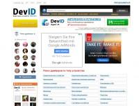 DevID сайт для поиска и обновления драйверов