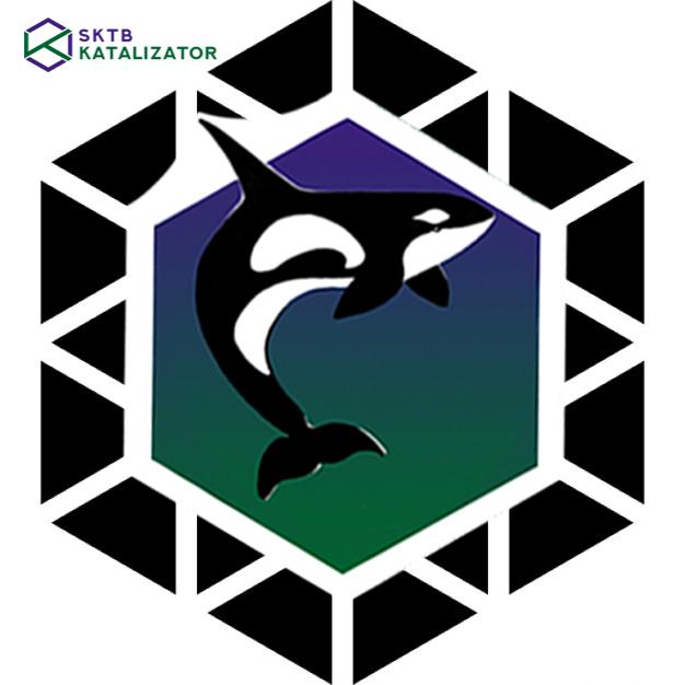 Разработка фирменного символа компании - касатки, НЕ ЛОГОТИП фото f_0995b02c93daf342.jpg