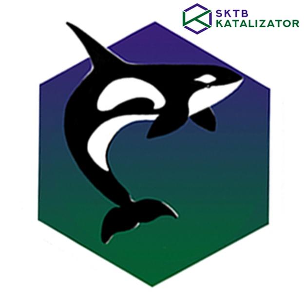 Разработка фирменного символа компании - касатки, НЕ ЛОГОТИП фото f_2215b02c92100b6e.jpg
