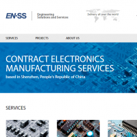 "Вёрстка Landing Page компании ""Engineering Solutions and Services"""