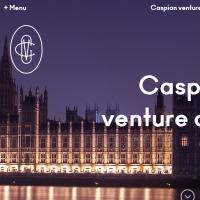 "Вёрстка Landing Page инвестиционного фонда ""Caspian venture capital"""