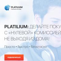 """Вёрстка Landing Page платежной системы """"Platilium"""""""