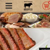 """Вёрстка мобильной версии сайта компании """"BEEFCO"""""""