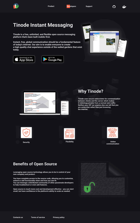 Дизайн сайта tinode.co фото f_3765d6c1eac143ac.jpg
