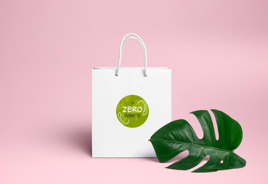 """Логотип для компании эко-товаров для дома """"Zero Waste"""""""