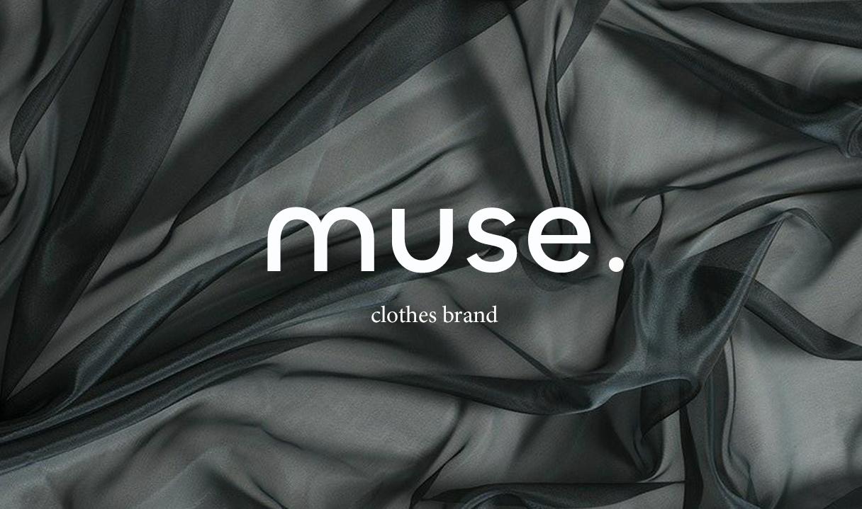 Логотип и дизайн визиток для бренда женской одежды