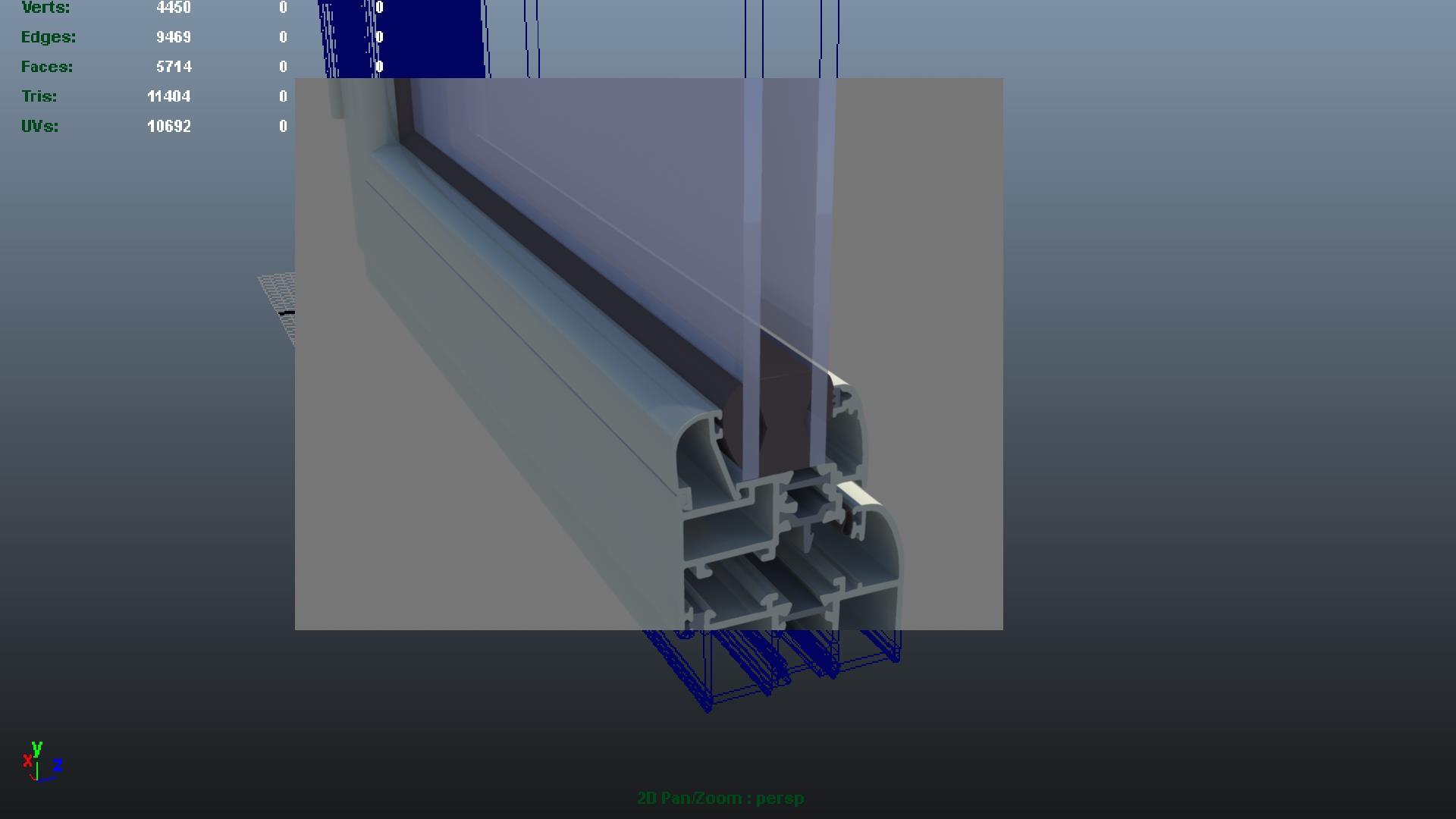 3D Модель Окон