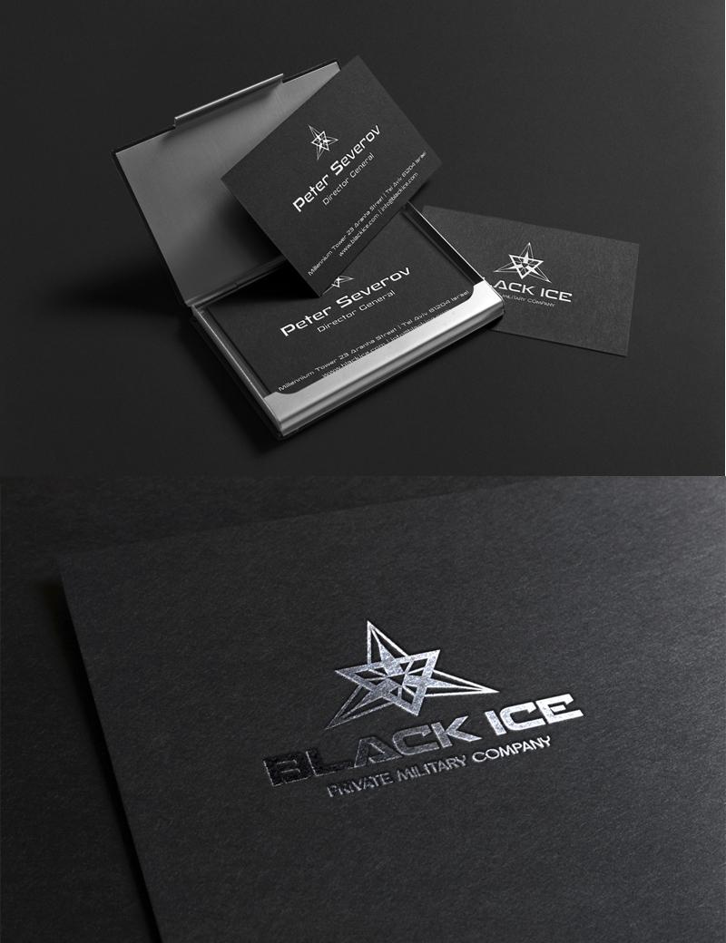 "Логотип + Фирменный стиль для компании ""BLACK ICE"" фото f_85456e5e3ca87800.jpg"