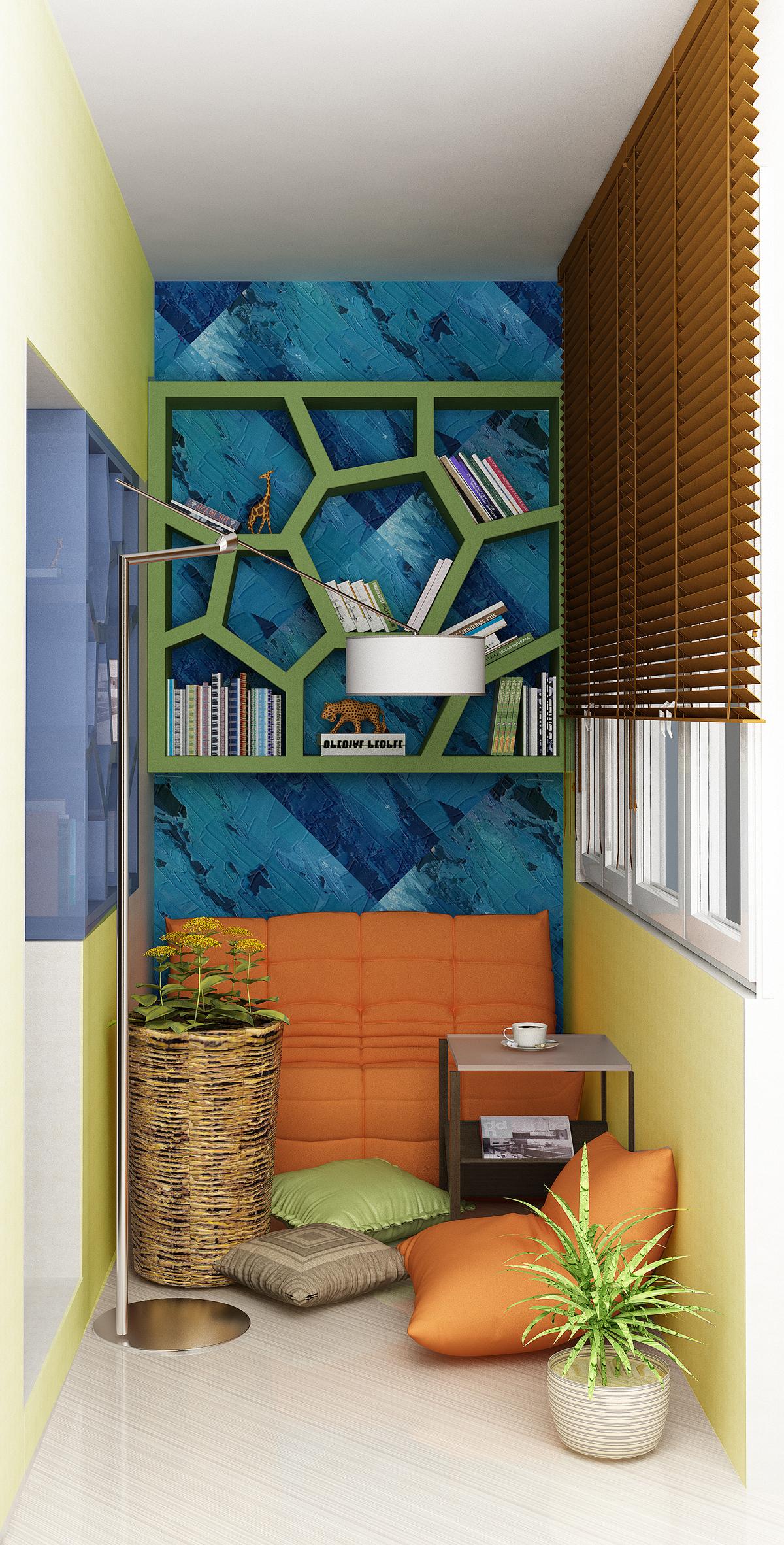 """Спальня с балконом для """"Идеи Вашего Дома"""""""
