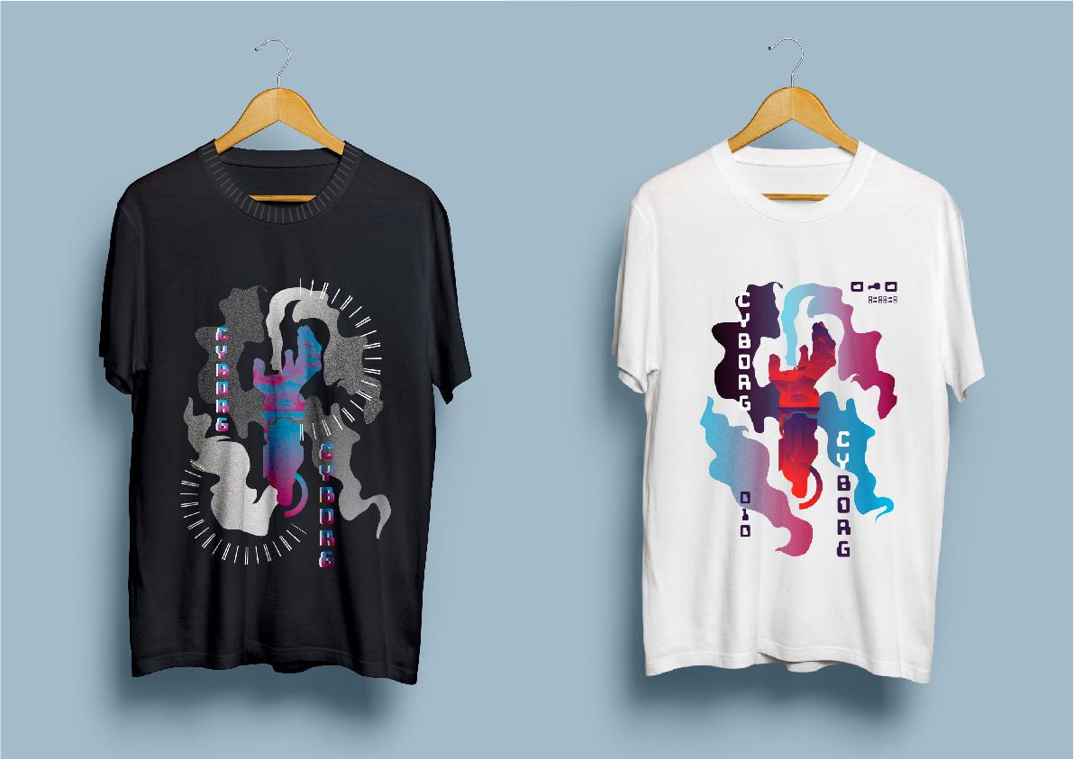 Нарисовать принты на футболки для компании Моторика фото f_95660a140d7f3915.jpg