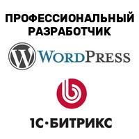 Профессиональный разработчик Bitrix и Wordpress