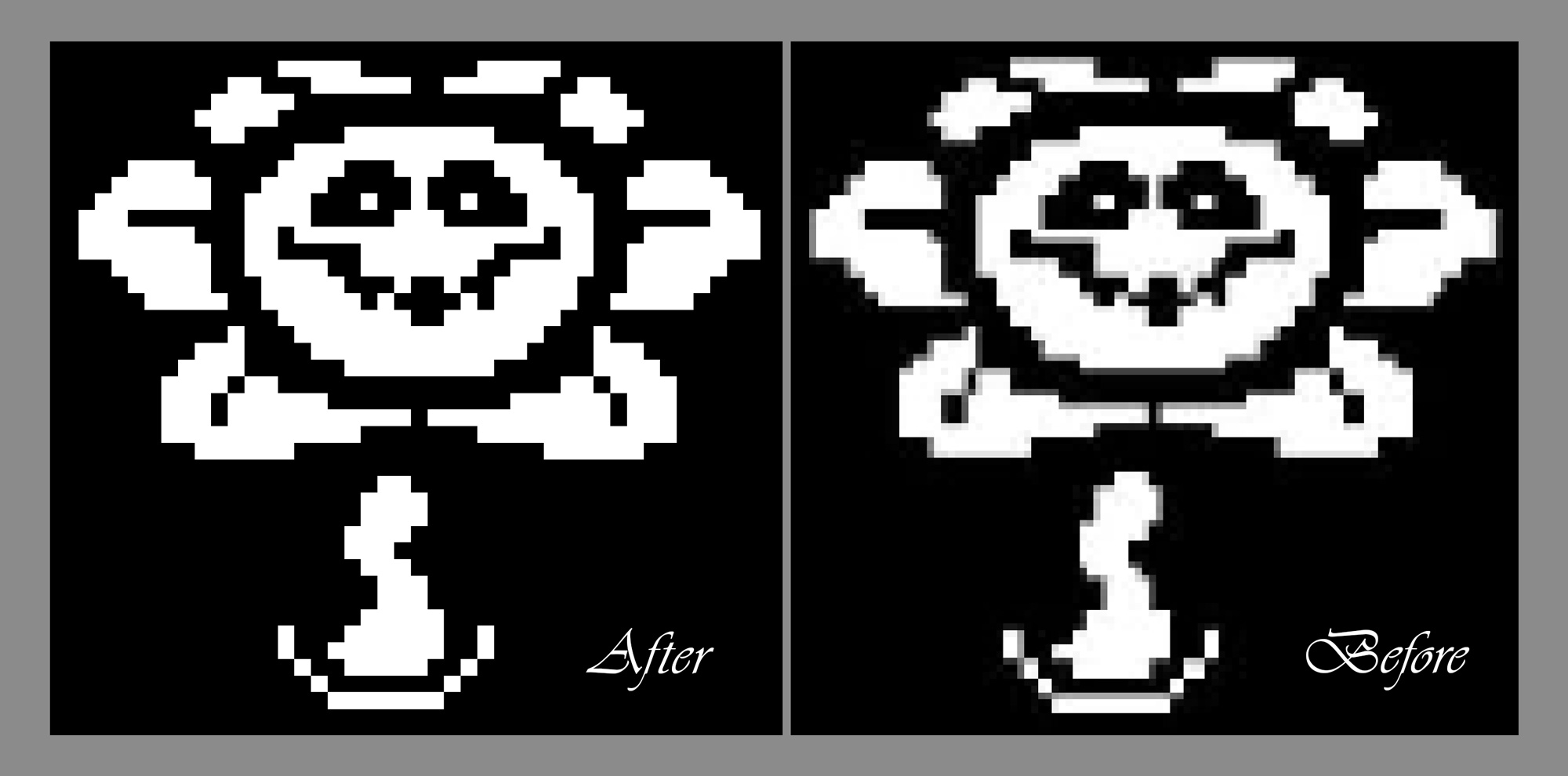 Отрисовка Пиксельной картинки