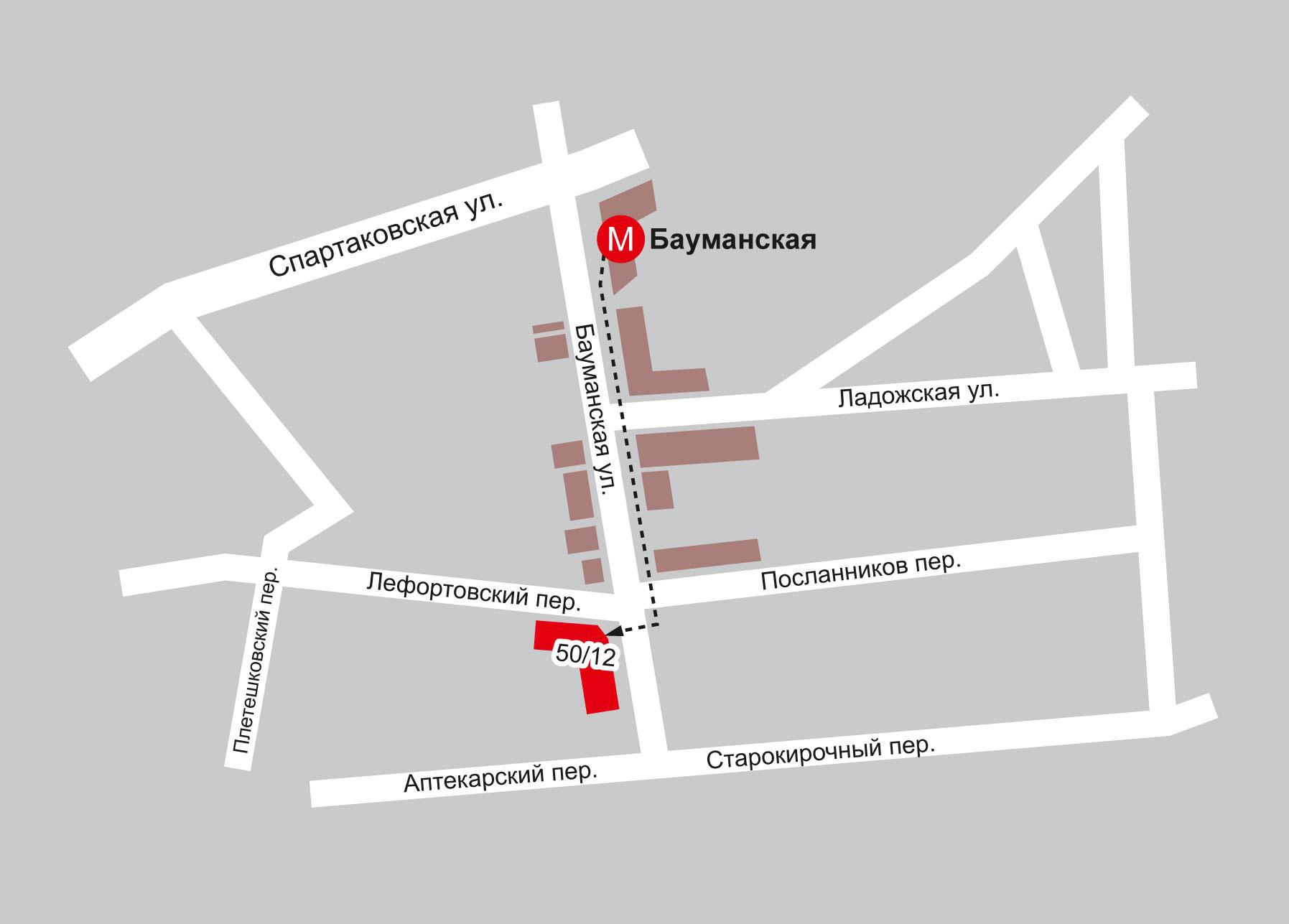 Карта-схема проезда 1