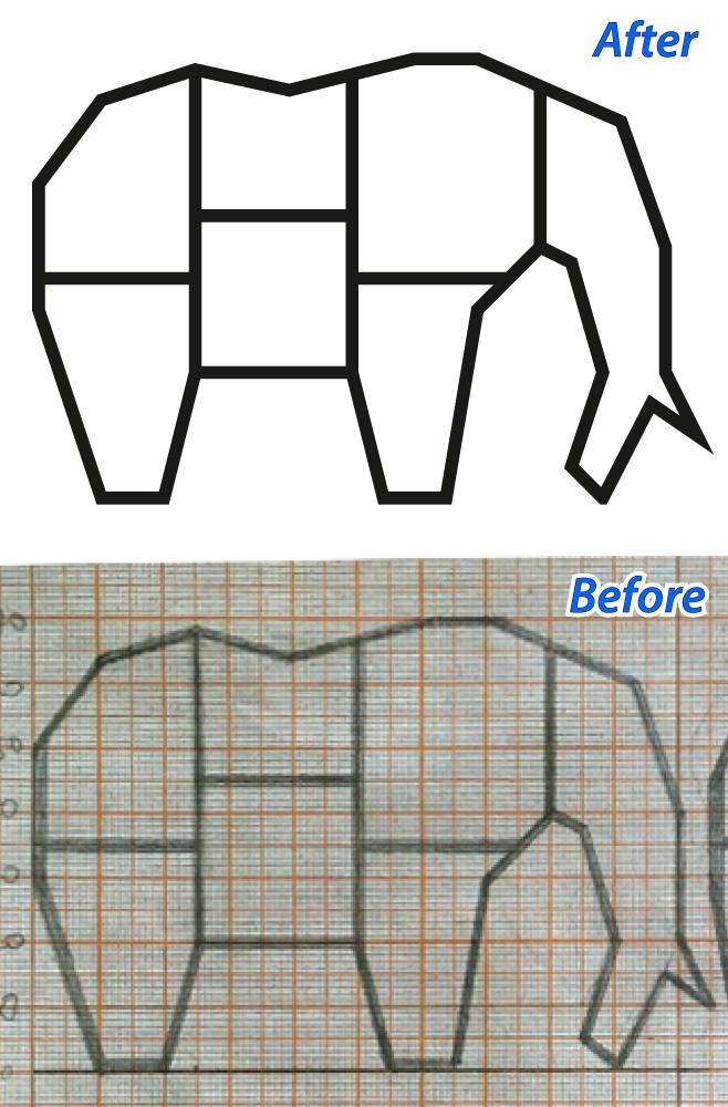 Отрисовка макета конструкции для лазерной резки