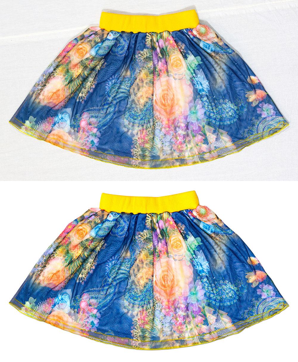 Предметная съемка для интернет-магазина 3D юбка