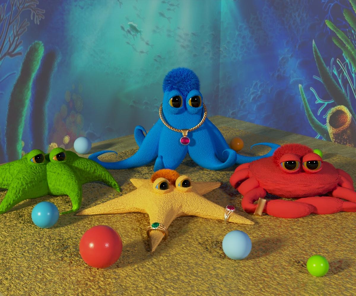 Дизайн 5 мягких игрушек фото f_5335cb7914072e1e.jpg