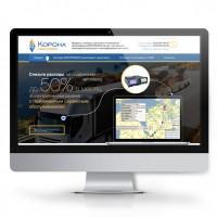 Landing page - Корона Мониторинг