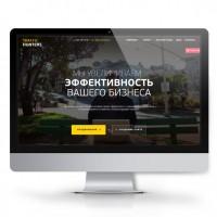 Корпоративный сайт для веб агентства