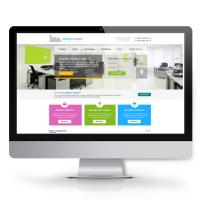 Дизайн офисов (landing page)