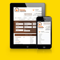 Дизайн для адаптивной верстки для интернет-магазина Камины