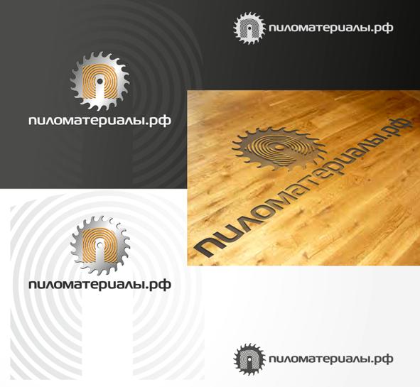 """Создание логотипа и фирменного стиля """"Пиломатериалы.РФ"""" фото f_73252f90b2c60ede.png"""