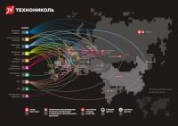 Инфографика для Технониколь
