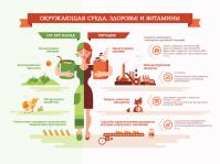 инфографика Витамины