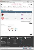 """Доработка интернет-магазина букетов и цветов """"La Vie En Rose"""" CMS OpenCart"""