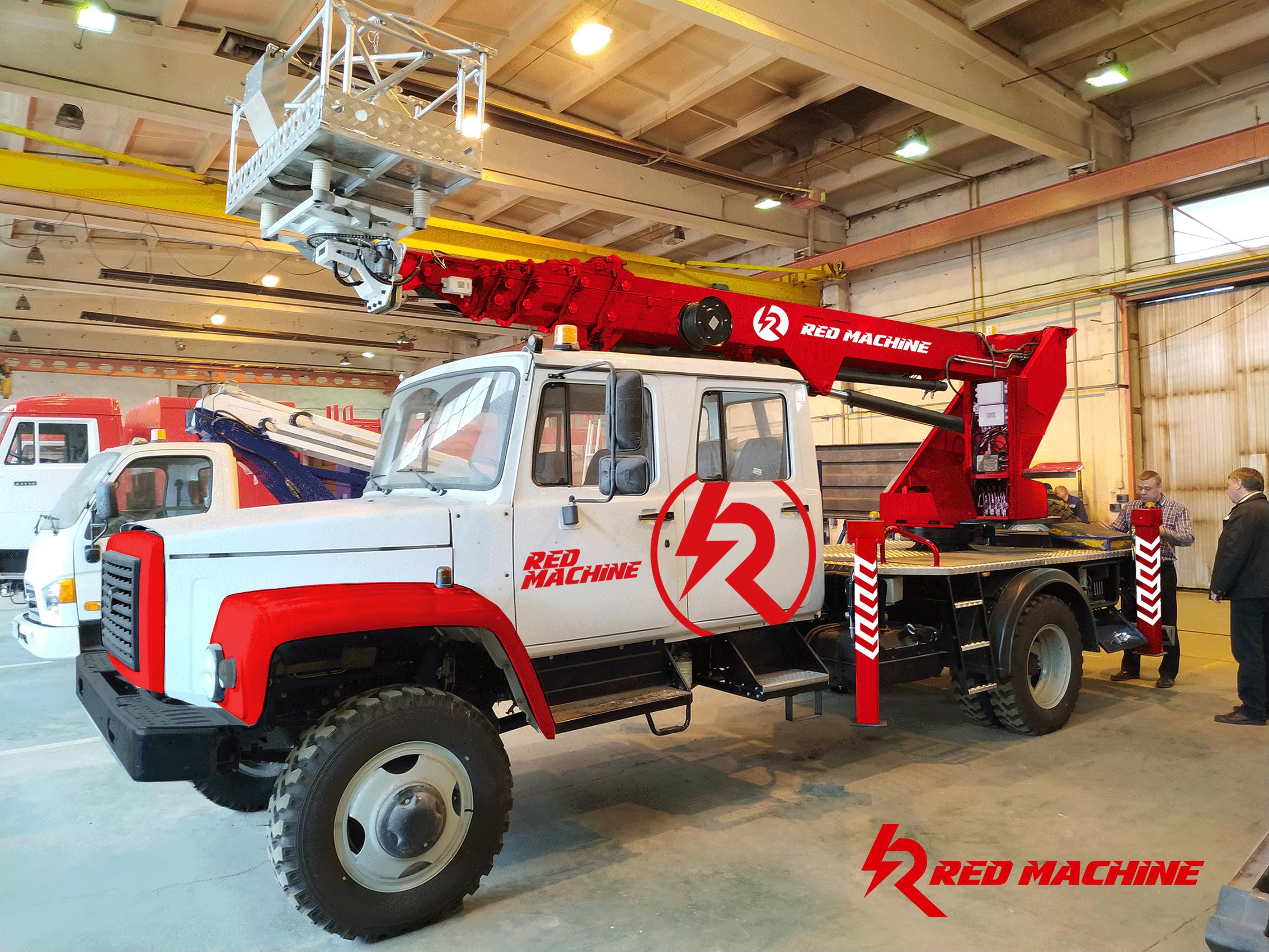 Оформление автогидроподъёмника,  бренд - RED MACHINE фото f_9625e14dc3bae854.png