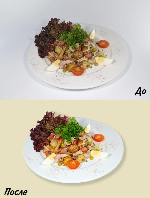 Для меню ресторана