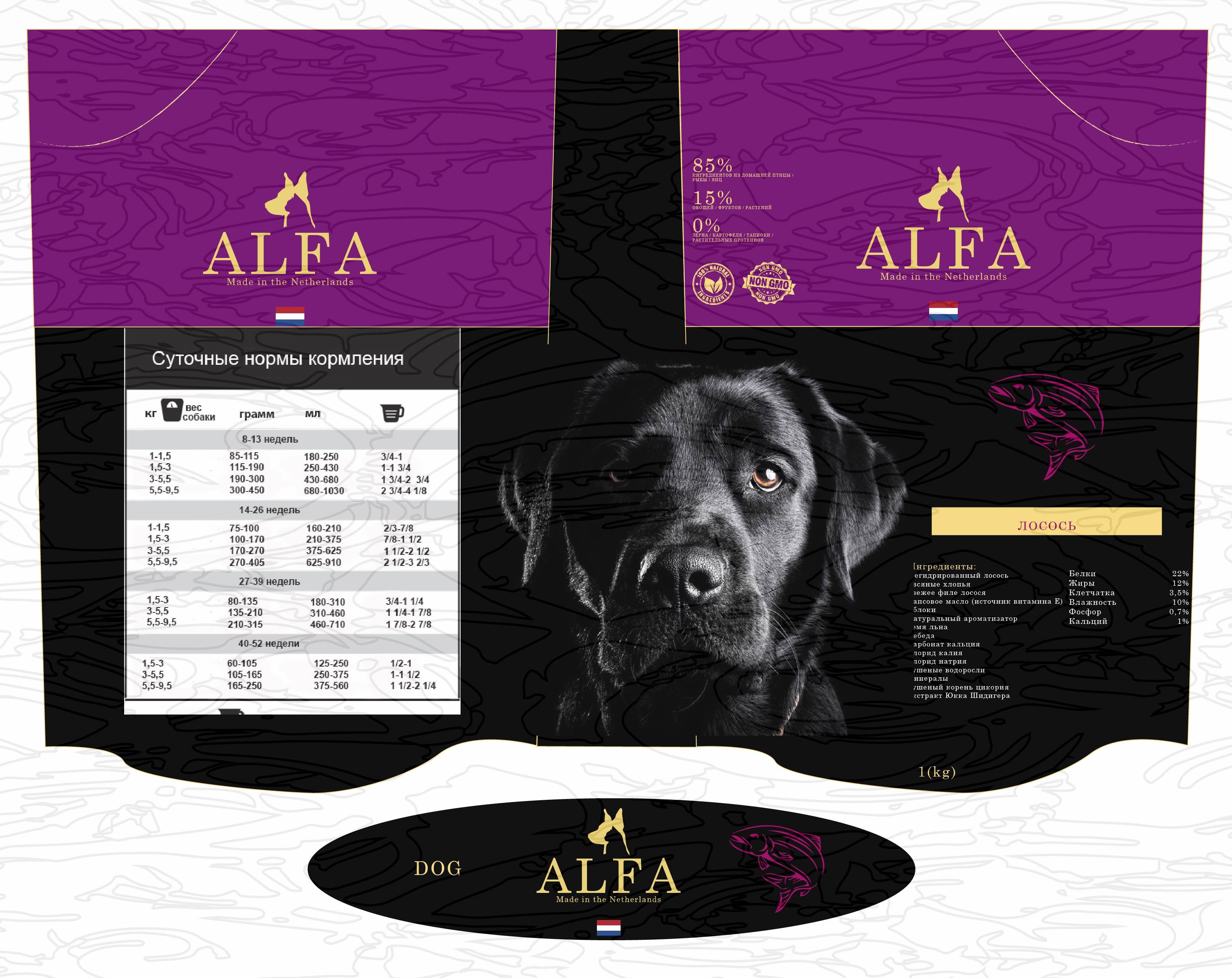 Создание дизайна упаковки для кормов для животных. фото f_5245ae39a53d74c9.jpg