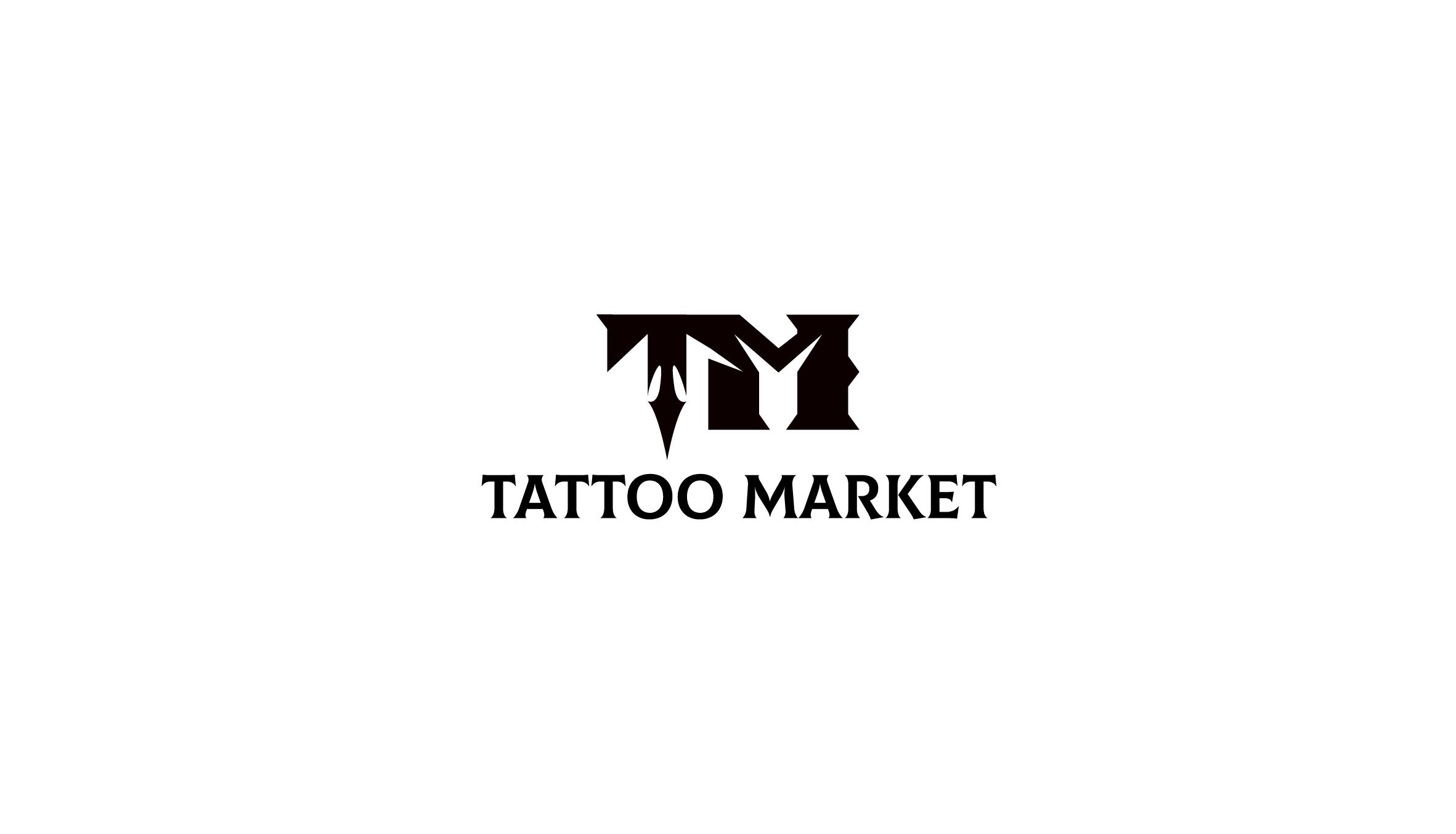 Редизайн логотипа магазина тату оборудования TattooMarket.ru фото f_1195c4ee997aff6d.jpg