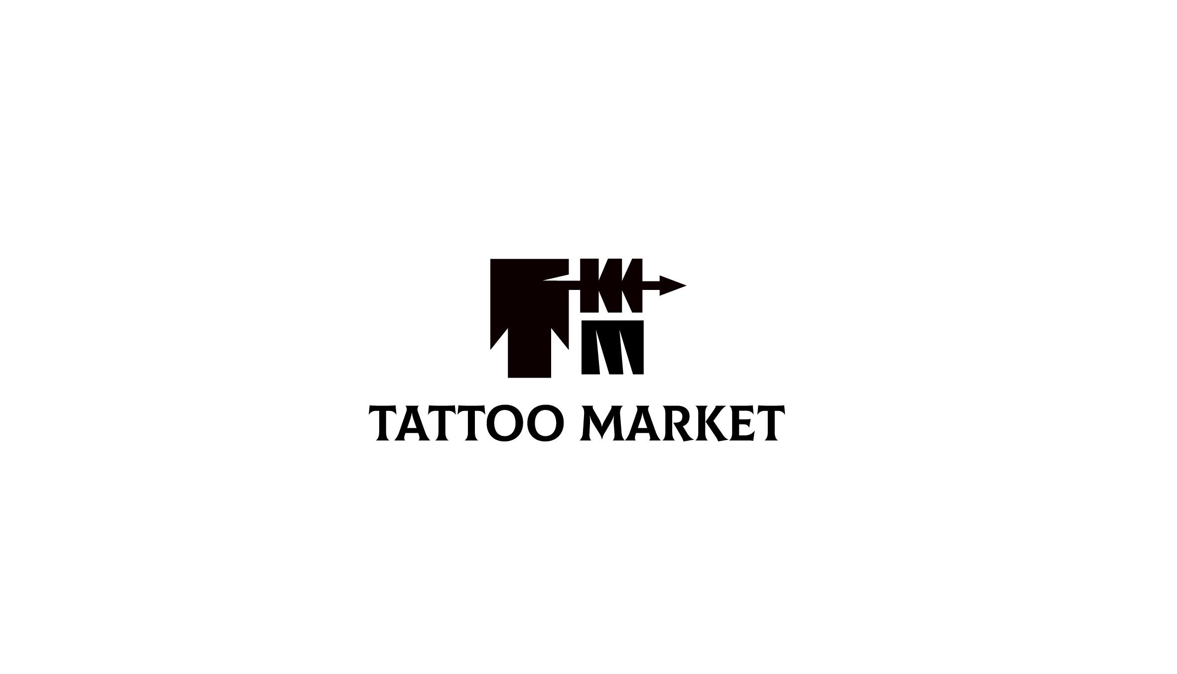 Редизайн логотипа магазина тату оборудования TattooMarket.ru фото f_5465c4ee994a82ac.jpg