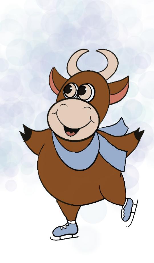 Создать рисунки быков, символа 2021 года, для реализации в м фото f_0875eff80644c747.png