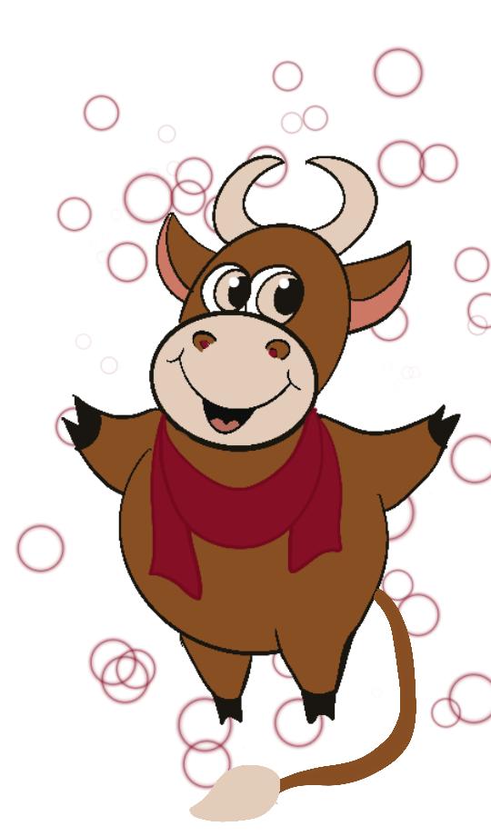 Создать рисунки быков, символа 2021 года, для реализации в м фото f_2085eff80490cc92.png