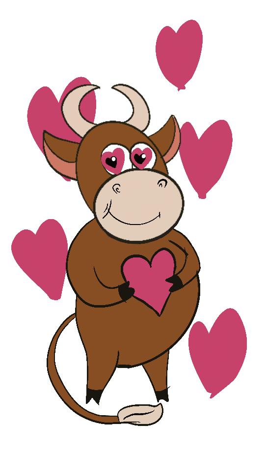 Создать рисунки быков, символа 2021 года, для реализации в м фото f_2975eff804d87edf.png