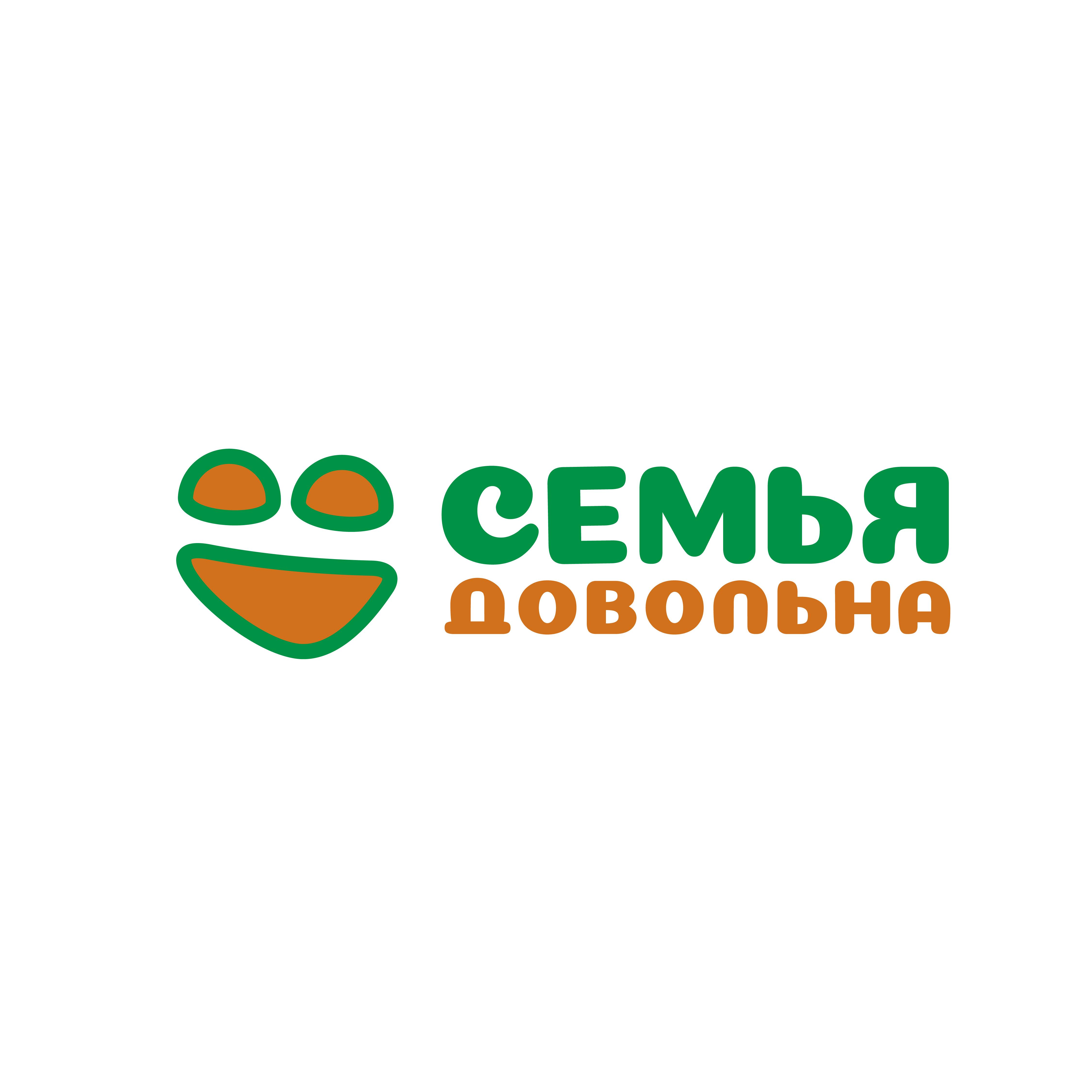 """Разработайте логотип для торговой марки """"Семья довольна"""" фото f_9015ba68cec7e20a.png"""