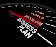 Одностраничник для компании, занимающейся срочным составлением бизнес-планов