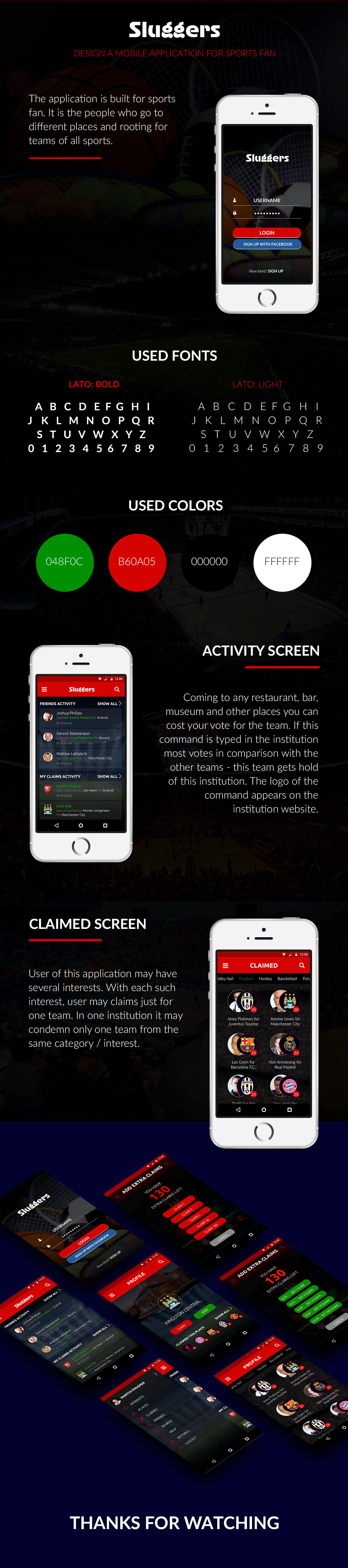 Mobile Application For Sports Fan