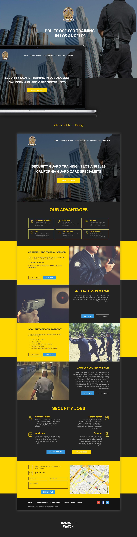 Officer training website