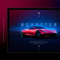Tesla Roadster & Semi. Landing Page