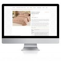 Качественное ручное заполнения сайта текстилем (постельное белье, пледы)
