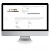 Качественное ручное заполнения сайта осветительными товарами