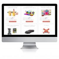 Качественное ручное заполнения сайта детскими товарами