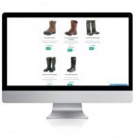 Качественное ручное заполнения сайта обувью