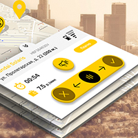 "App Design ""DriveTime"" carsharind Minsk"